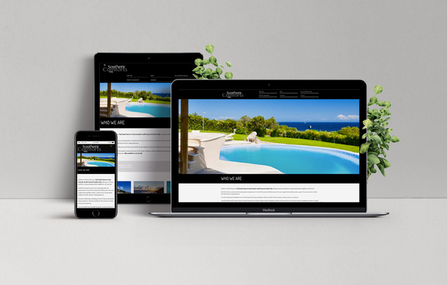 sito web Southern Comforts Italy